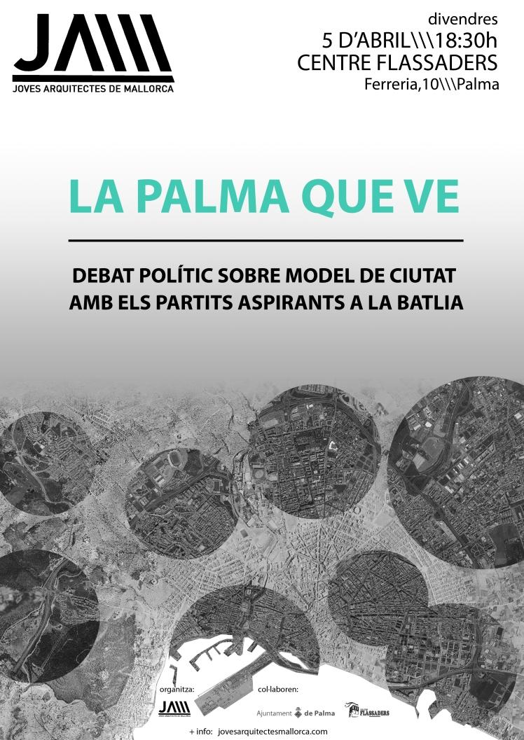 Cartell JAM debat polític v2.3